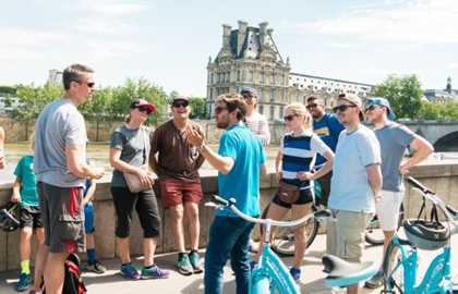 Best of Paris Bicycle Tour (nur auf Englischer Sprache)