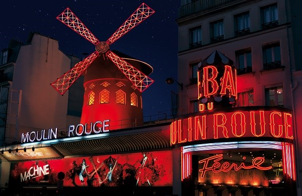 Moulin Rouge - Weihnachts dinnershow «Féerie»