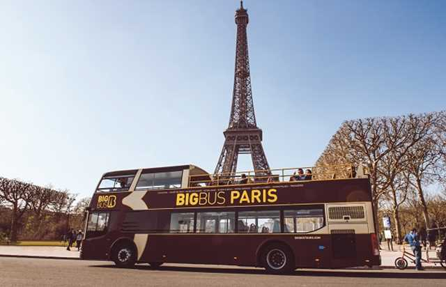 Paris Big Bus - Sightseeing-Bus